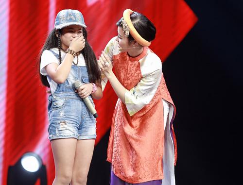 Cô bé hát Quốc ca 12 tuổi gây sốt The Voice Kids - 11