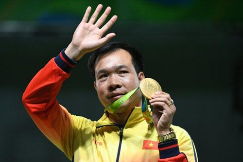 Hoàng Xuân Vinh tiết lộ bí quyết giành HCV Olympic - 1