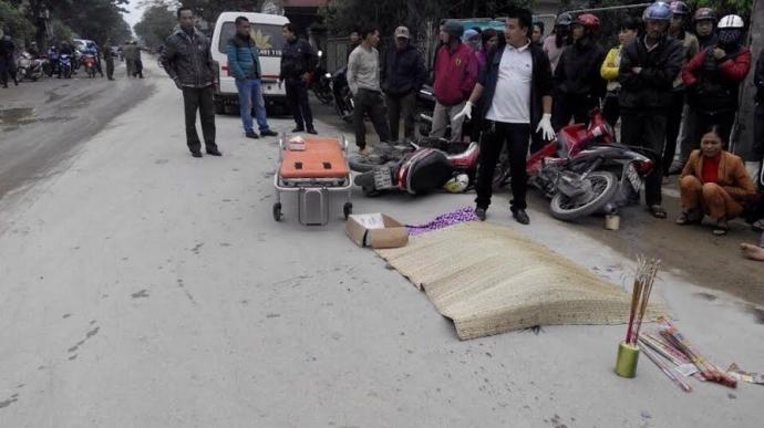 Người làm đẹp tử thi những nạn nhân tai nạn giao thông - 1