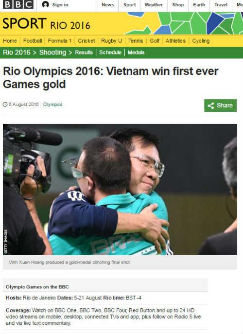 Báo chí thế giới sửng sốt vì HCV lịch sử Hoàng Xuân Vinh - 1