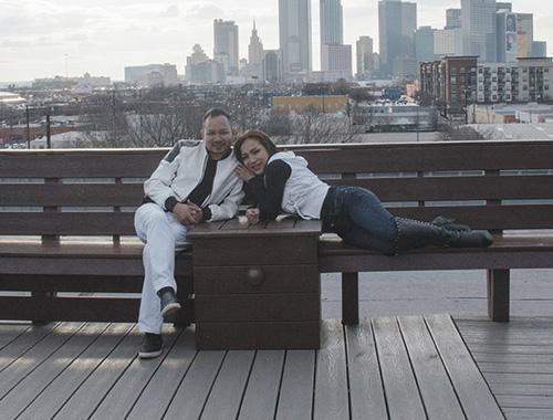 Vợ chồng Hồng Ngọc ngại ngùng diễn cảnh tình cảm - 1