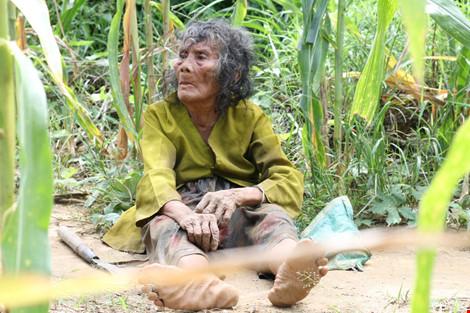 Cụ bà 90 tuổi lưng còng, tóc bạc vẫn trồng ngô tỉa bắp - 4