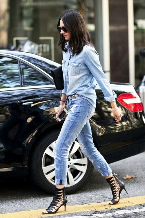 Mặc đồ jeans thế nào khi trời siêu nóng? - 9
