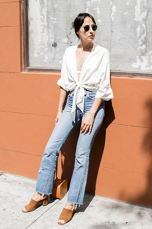 Mặc đồ jeans thế nào khi trời siêu nóng? - 12