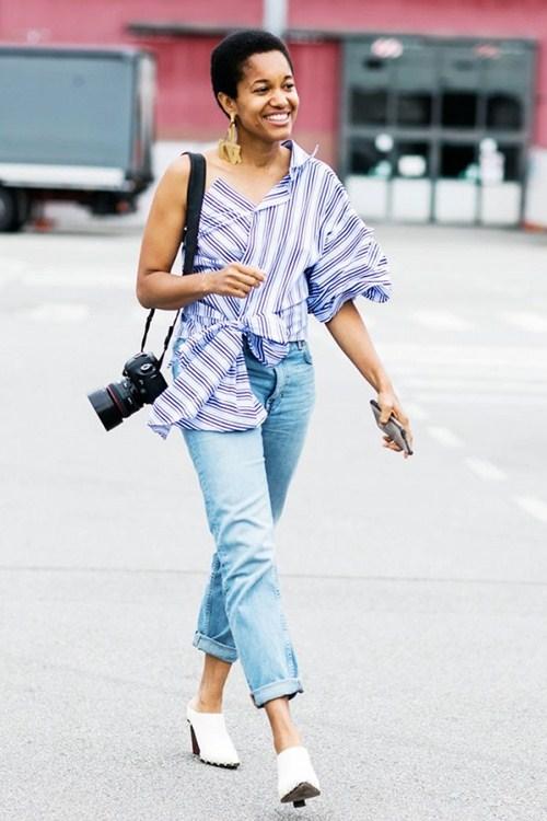 Mặc đồ jeans thế nào khi trời siêu nóng? - 10