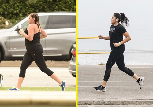 Nàng béo giảm thành công 15kg sau vài tháng chạy bộ - 1