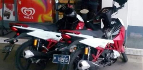 Lộ xe côn tay SYM 175 phân khối đầu tiên tại Việt Nam - 3