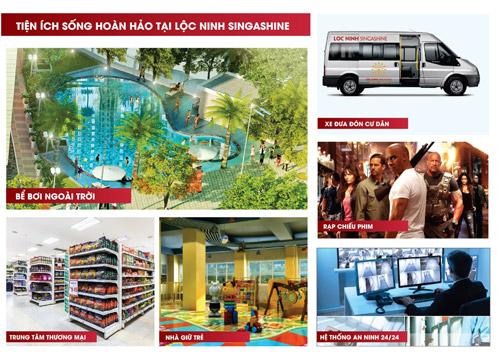 Sức hút mới từ dự án Lộc Ninh Singashine - 3