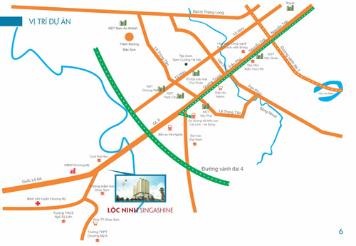 Sức hút mới từ dự án Lộc Ninh Singashine - 1