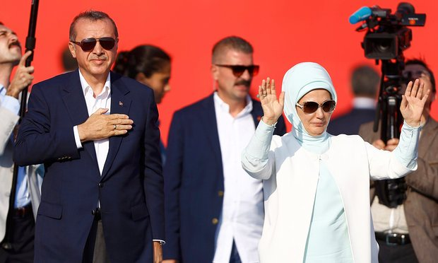 5 triệu người Thổ Nhĩ Kỳ tuần hành ủng hộ chính quyền - 5