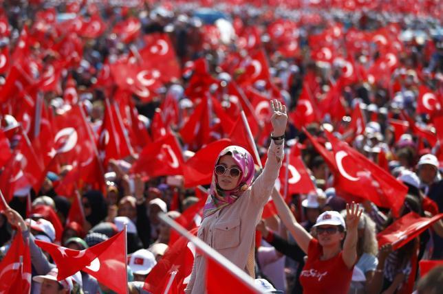 5 triệu người Thổ Nhĩ Kỳ tuần hành ủng hộ chính quyền - 2