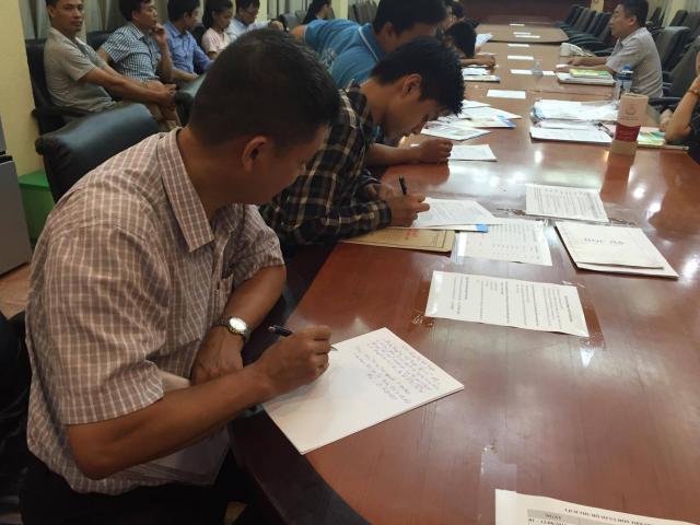 Yêu cầu các trường công bố điểm nhận hồ sơ sát với điểm chuẩn - 1