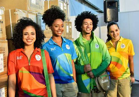 Thời trang thể thao 361º tài trợ trang phục Olympic Rio 2016 - 2