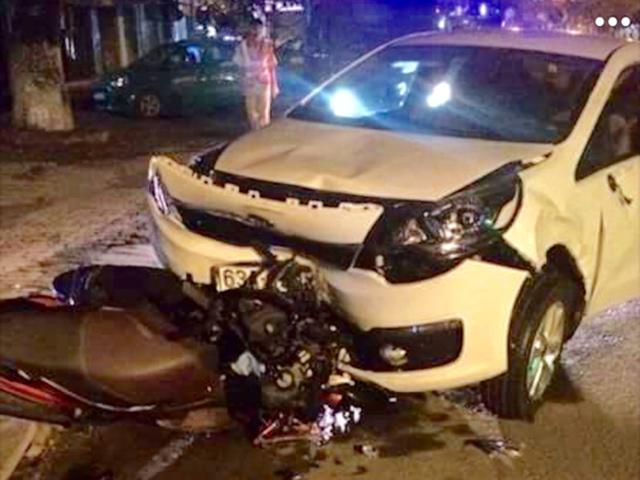 Một cảnh sát cơ động say xỉn, lái xe tông chết người - 2