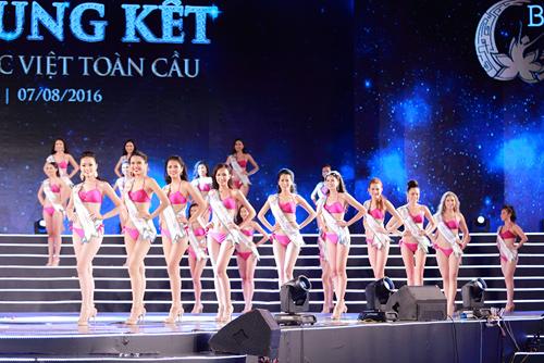 Cận cảnh màn bikini tại chung kết Hoa hậu Bản sắc Việt - 4