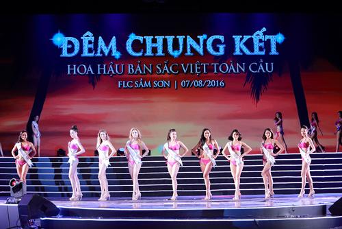 Cận cảnh màn bikini tại chung kết Hoa hậu Bản sắc Việt - 5