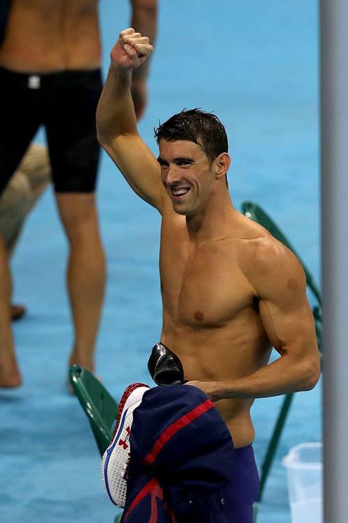 Siêu kình ngư Michael Phelps cán mốc 19 HCV ở Olympic - 3