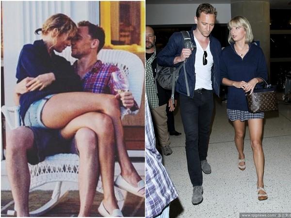 Vắng Tom Hiddleton, Taylor Swift hôn trai lạ - 3