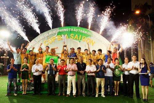 Đội Đinh Gia FC xuất sắc giành Cúp Vô Địch Bia Sài Gòn khu vực Đồng Nai - 1