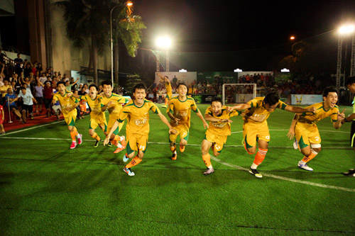 Đội Đinh Gia FC xuất sắc giành Cúp Vô Địch Bia Sài Gòn khu vực Đồng Nai - 4
