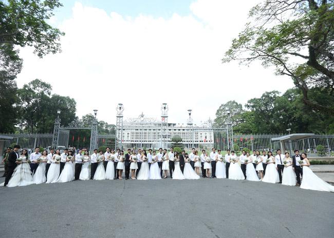 22 cặp đôi khắp cả nước đổ về TP.HCM chụp ảnh cưới - 2