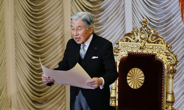 Bài phát biểu chưa từng có của Nhật hoàng già yếu - 1