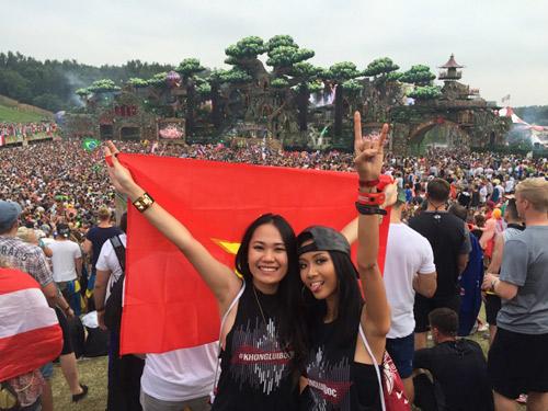 Suboi mang tinh thần 'không lùi bước' tới Tomorrowland 2016 - 5