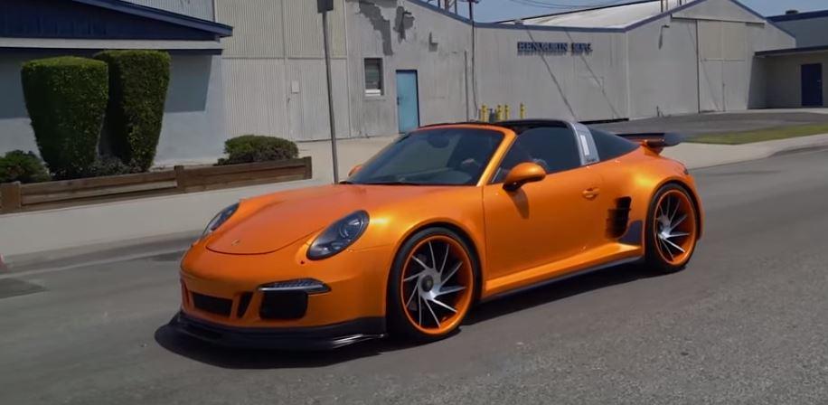 """Ngắm Porsche 911 Targa 4 GTS sau khi được """"phù phép"""" - 1"""