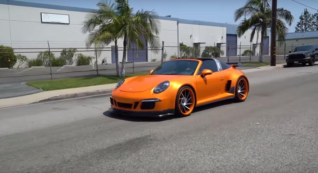 """Ngắm Porsche 911 Targa 4 GTS sau khi được """"phù phép"""" - 2"""