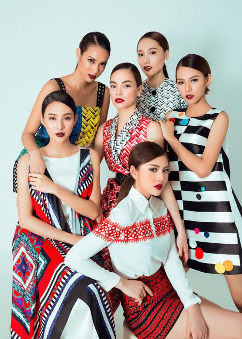 The Face: Đội Hà Hồ được mời quảng bá du lịch Singapore - 1