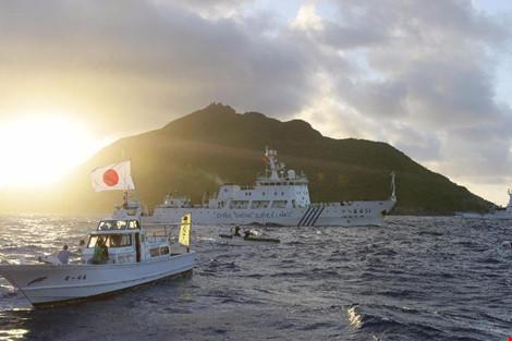 Nhật Bản tố TQ xâm phạm lãnh hải 14 lần liên tiếp - 1