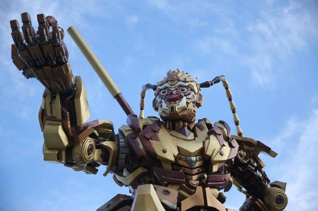 TQ làm robot Tôn Ngộ Không khổng lồ như trong... phim Mỹ - 2