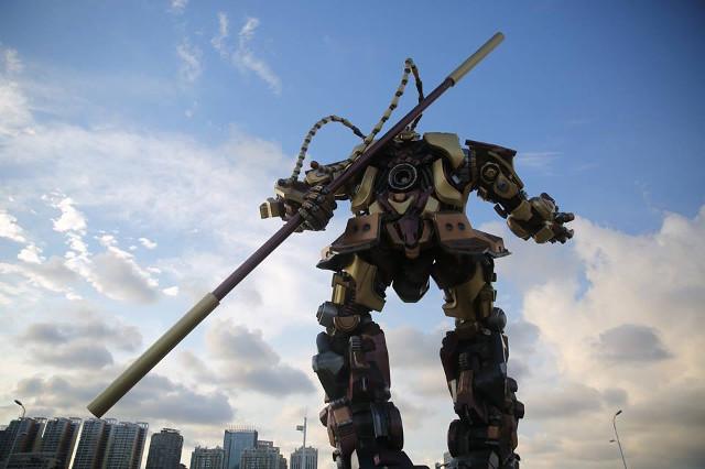 TQ làm robot Tôn Ngộ Không khổng lồ như trong... phim Mỹ - 4