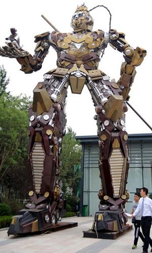 TQ làm robot Tôn Ngộ Không khổng lồ như trong... phim Mỹ - 6