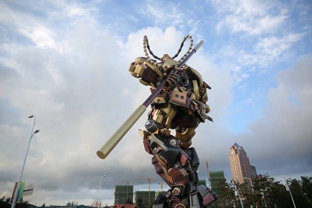 TQ làm robot Tôn Ngộ Không khổng lồ như trong... phim Mỹ - 3