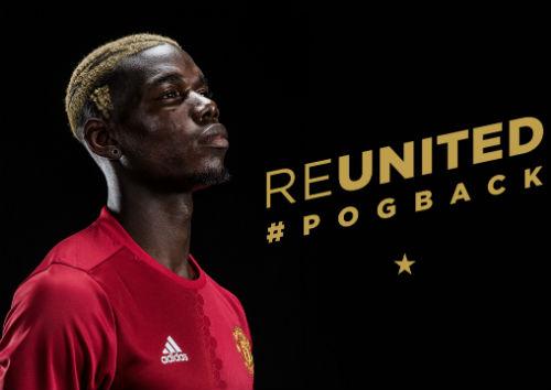CHÍNH THỨC: Pogba ký hợp đồng 5 năm với MU - 1