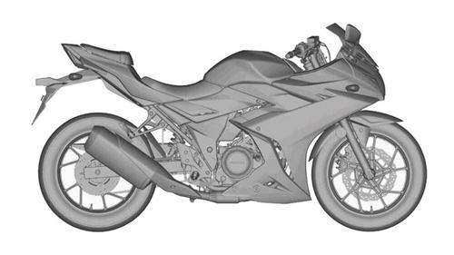 Thế hệ mới mẫu mô tô thể thao Suzuki GSX-R250 lộ diện - 2