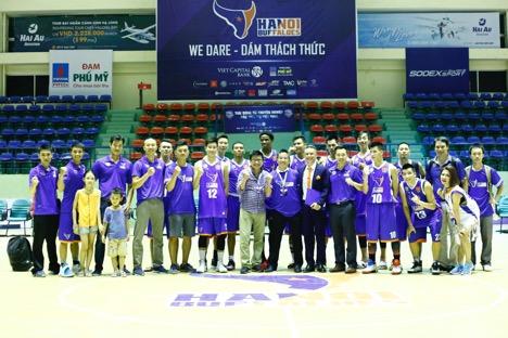 """Hà Nhi Idol """"bùng nổ"""" cùng giải bóng rổ chuyên nghiệp Việt Nam - VBA - 8"""