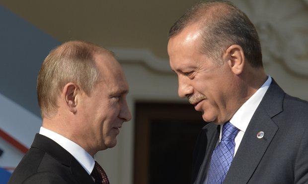 Putin-Erdogan lần đầu gặp mặt sau vụ bắn rơi Su-24 Nga - 1