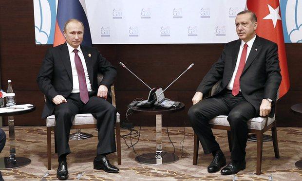 Putin-Erdogan lần đầu gặp mặt sau vụ bắn rơi Su-24 Nga - 3