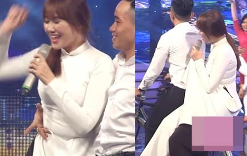 """Hari Won """"thua đứt"""" loạt sao Hàn khi diện áo dài Việt - 2"""