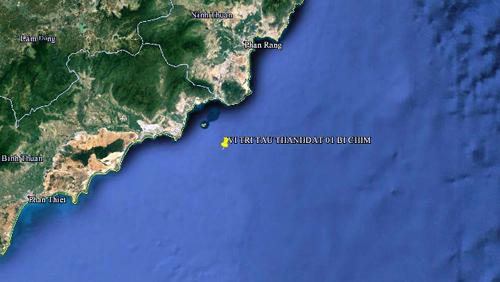 2 tàu đâm nhau, 11 thuyền viên rơi xuống biển Vũng Tàu - 1