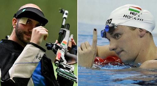 Nữ kình ngư, nam xạ thủ phá sâu kỷ lục Olympic - 1