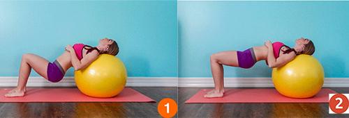 5 bài tập giúp ngực nở, eo thon, mông săn chắc - 1