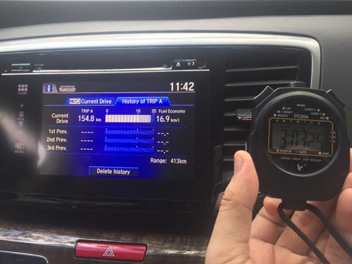 Ấn tượng mức tiêu thụ nhiên liệu siêu tiết kiệm của Accord và Odyssey! - 12