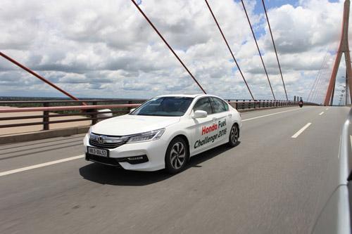 Ấn tượng mức tiêu thụ nhiên liệu siêu tiết kiệm của Accord và Odyssey! - 2