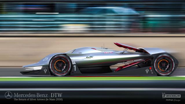 """Siêu xe Mercedes-Benz DTW Concept sẽ là """"nhà vua"""" trong tương lai - 2"""