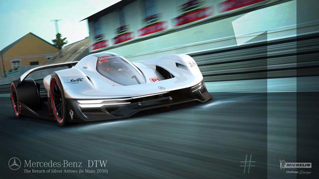 """Siêu xe Mercedes-Benz DTW Concept sẽ là """"nhà vua"""" trong tương lai - 1"""