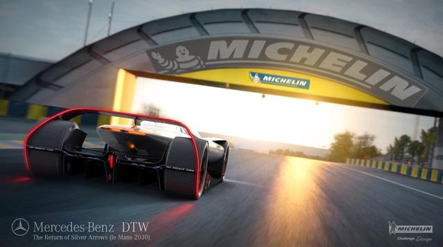 """Siêu xe Mercedes-Benz DTW Concept sẽ là """"nhà vua"""" trong tương lai - 4"""