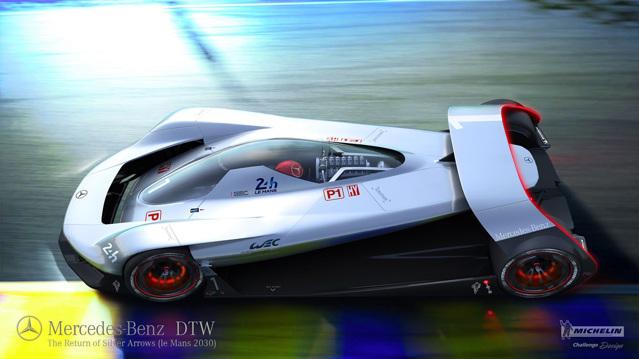 """Siêu xe Mercedes-Benz DTW Concept sẽ là """"nhà vua"""" trong tương lai - 3"""